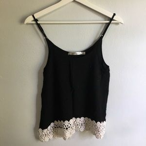 Black and White Tank Top